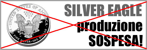 Sospesa produzione Silver Eagle